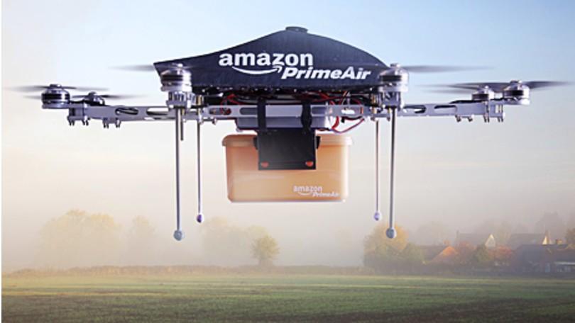 Drones inteligentes de reparto